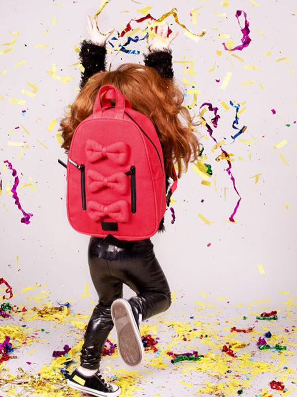 one gallery picture for 7 A.M. Mini Bows Cotton Backpack Tas Ransel Anak - Valentine