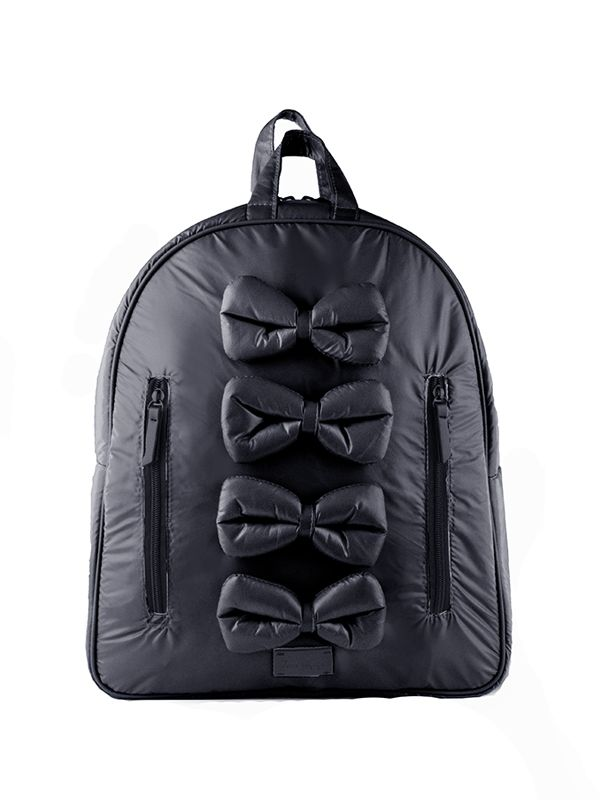 one gallery picture for 7 A.M. Midi Bows Backpack Tas Ransel Anak - Black