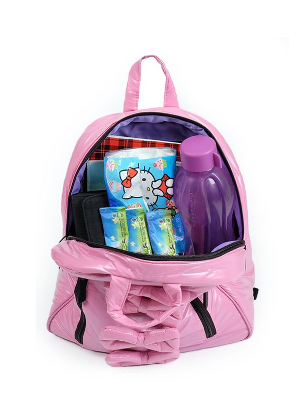 one gallery picture for 7 A.M. Midi Bows Backpack Tas Ransel Anak - Blush