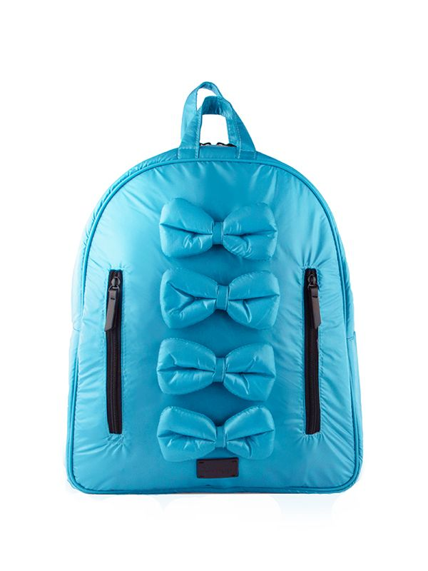 one gallery picture for 7 A.M. Midi Bows Backpack Tas Ransel Anak - Turquoise