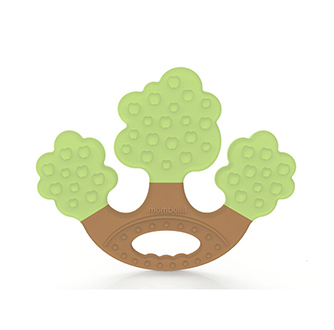 Apple Tree Teether - Green