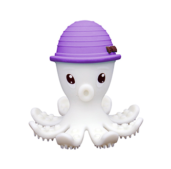 Octopus Teether Toy - Lilac