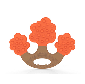 Apple Tree Teether - Orange