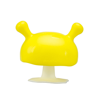 Mushroom Teether - Yellow