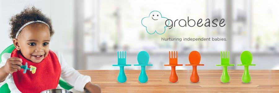 Beli Peralatan Makan Bayi Grabease - MOOIMOM