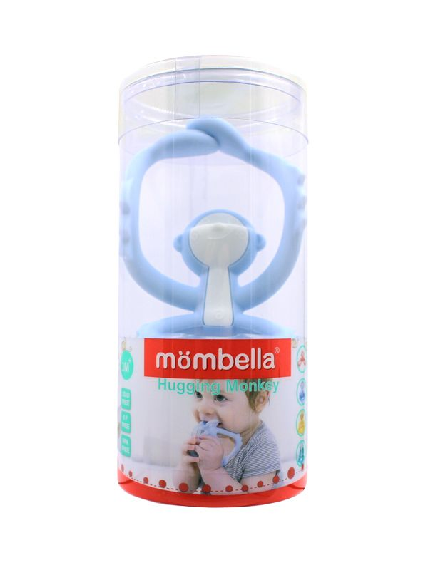 one gallery picture for Mombella Hugging Monkey - Light Blue