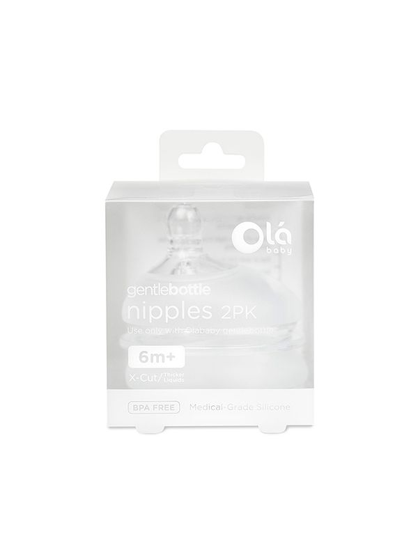 one gallery picture for GentleBottle X-Cut Nipple 6m+ (2PK)