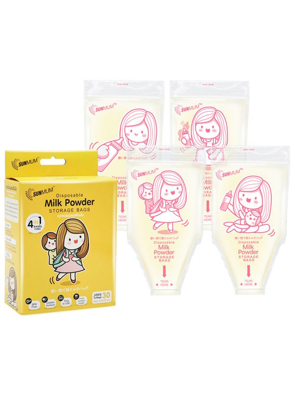 gallery picture of Sunmum Milk Powder Bag Kantong Susu Bubuk Bayi  (30 bag)