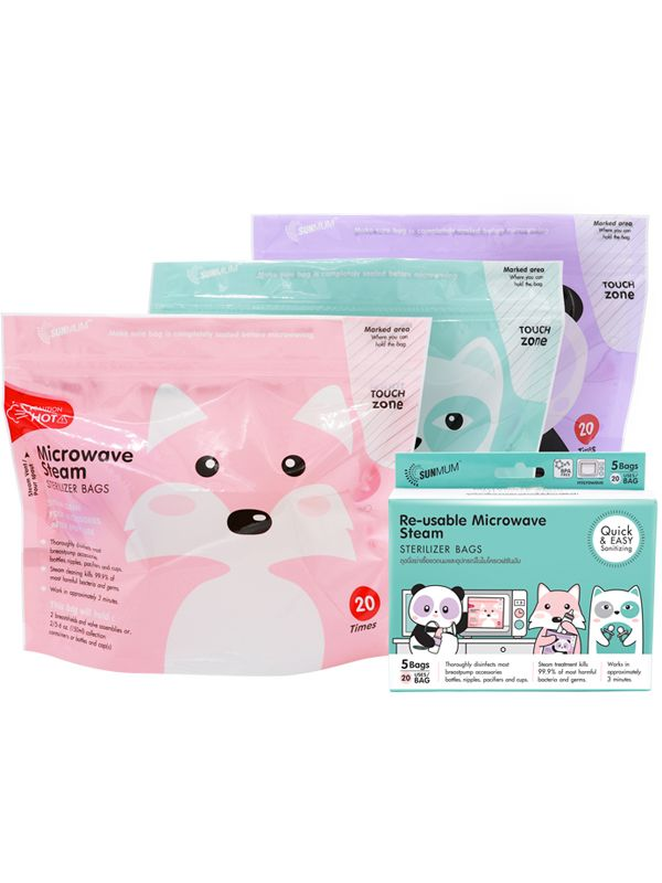 gallery picture of Sunmum Steam Sterilizer bags Kantong Steril ASI (5 bag)