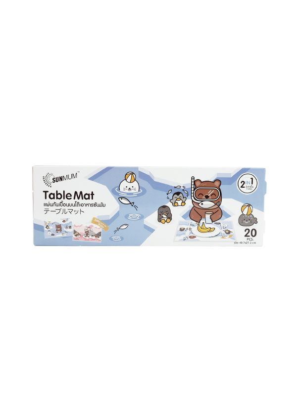 one gallery picture for SUNMUM Table Mat - Alas Makan Bayi