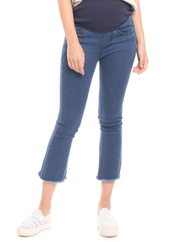gallery picture of Slim Fit Maternity Ankle Jeans Celana Jeans Hamil
