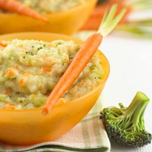Resep Mpasi 7 Mashed Potato Dengan Bojuwo Brokoli Keju Wortel