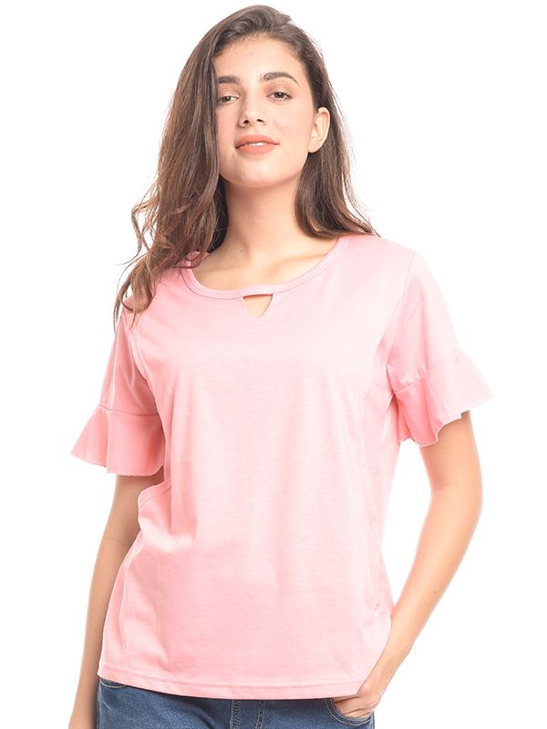 one gallery picture for V-Shaped & Rimple Hand Nursing T-Shirt Baju Hamil & Menyusui