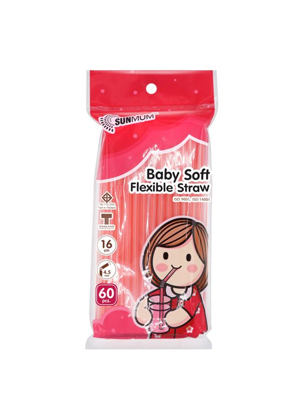 one gallery picture for SUNMUM Baby Soft Flexible Straw