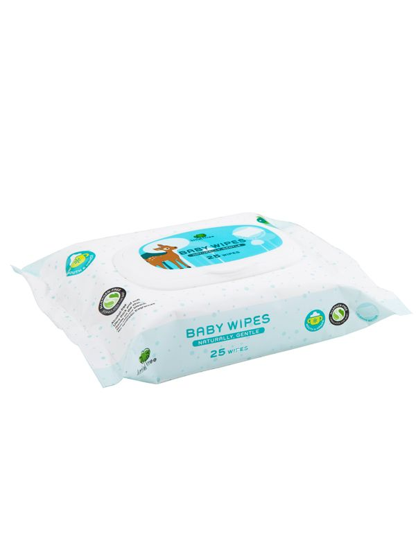 one gallery picture for Little Tree Baby Wipes (Hands & Mouth) 25Wipes