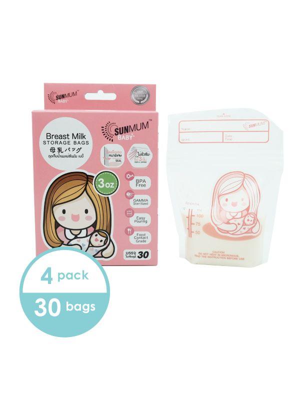 one gallery picture for 4 Bags Sunmum Breastmilk Storage Bags Kantong ASI