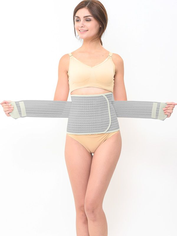 one gallery picture for Bamboo Postpartum Belly Band Corset