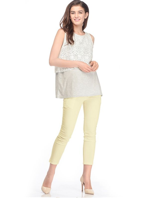 one gallery picture for Cropped Maternity Pants Celana Panjang Hamil