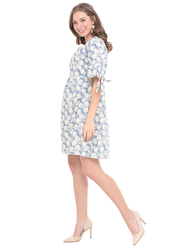 one gallery picture for Flower Mini Maternity & Nursing Dress