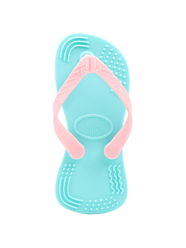 one gallery picture for Jeelly Sandals Teether [Blue] - Gigitan Bayi