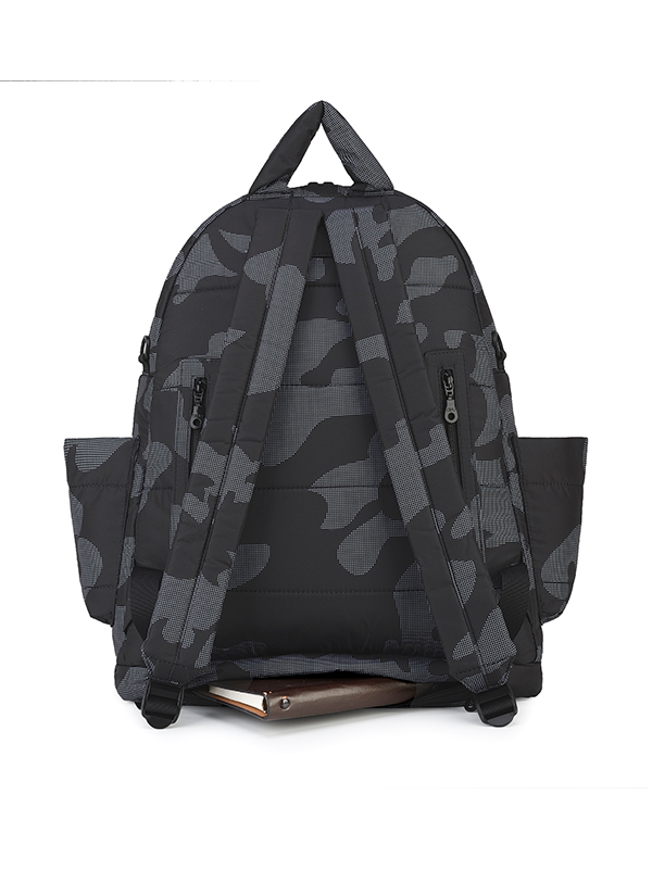 one gallery picture for CIPU  Airy Backpack ECO Black Camouflage