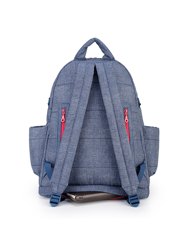 one gallery picture for CIPU Airy Backpack ECO Denim Pink