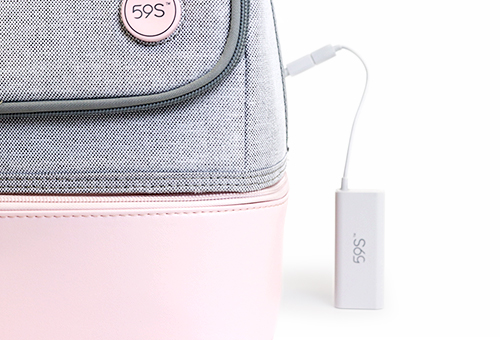 one gallery picture for 59s - UVC LED Sterilizing Mommy Bag / Tas Strerilizer Portable