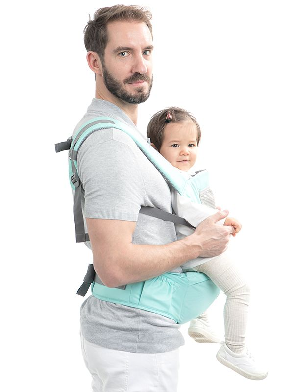 one gallery picture for MOOIMOM Casual Hipseat Carrier