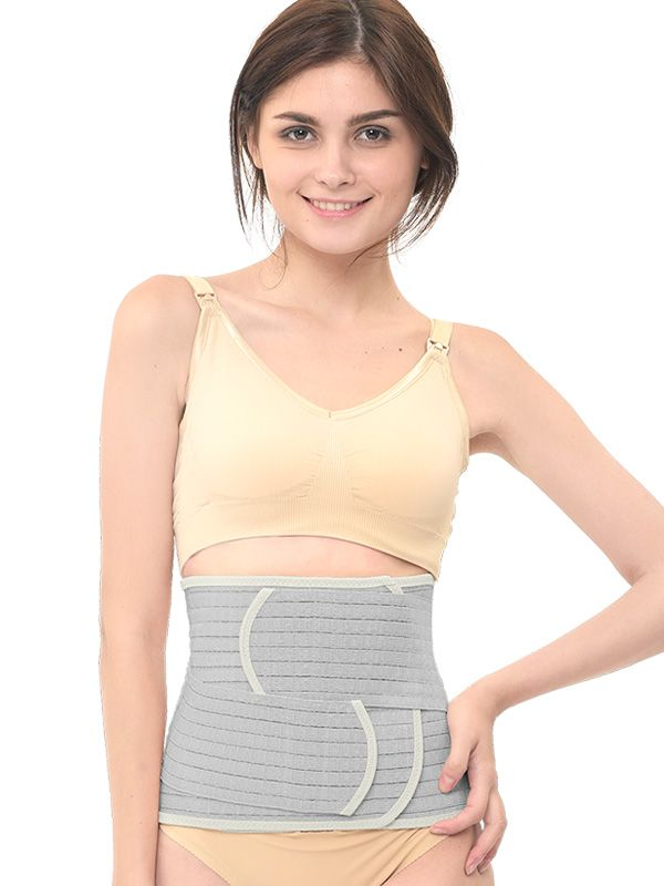 gallery picture of MOOIMOM Bamboo Postpartum Belly Band Corset