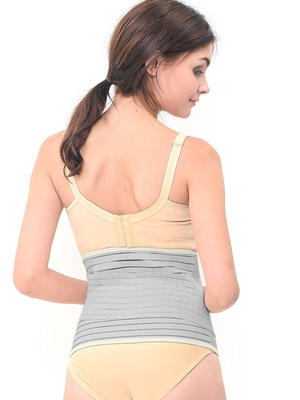 one gallery picture for MOOIMOM Bamboo Postpartum Belly Band Corset