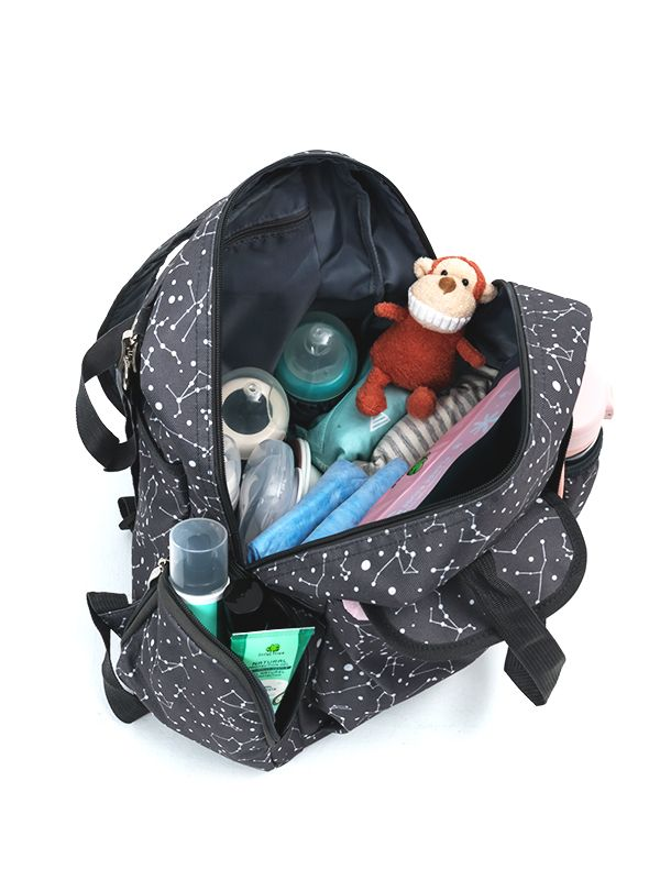 one gallery picture for Mooimom 2-Ways Diaper Bag