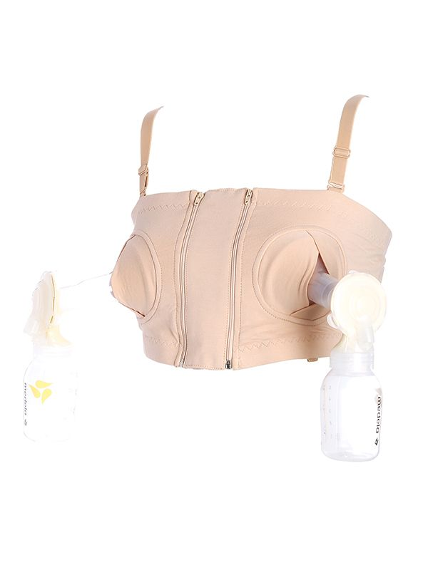 one gallery picture for MOOIMOM Hands Free Pumping Bra / Bra Pompa ASI Bra Menyusui