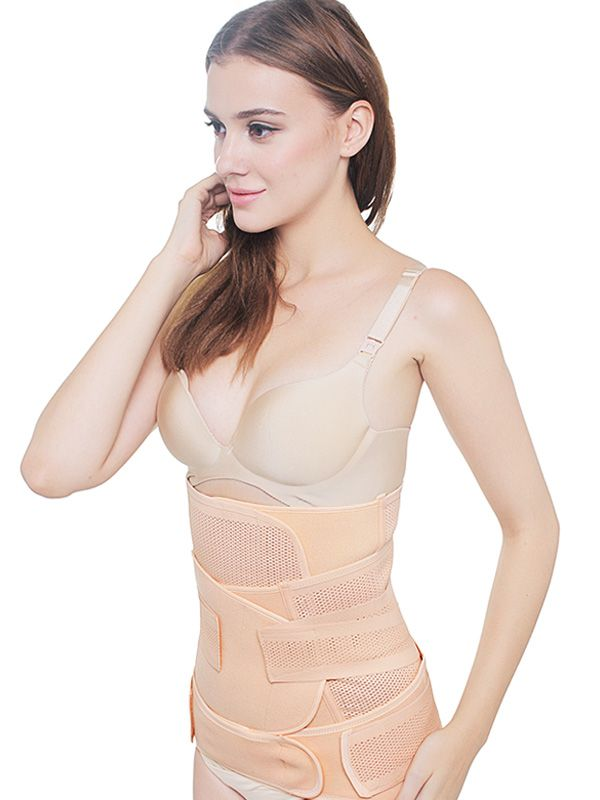 one gallery picture for MOOIMOM 3 in 1 Postnatal Recovery Breathable Corset / Korset Pelangsing