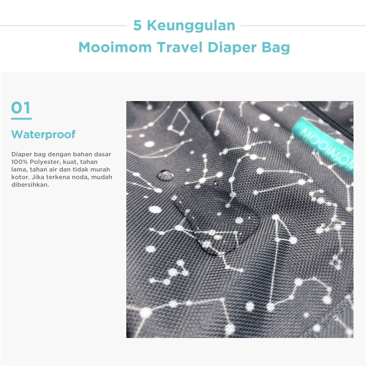 Diaper bag mooimom