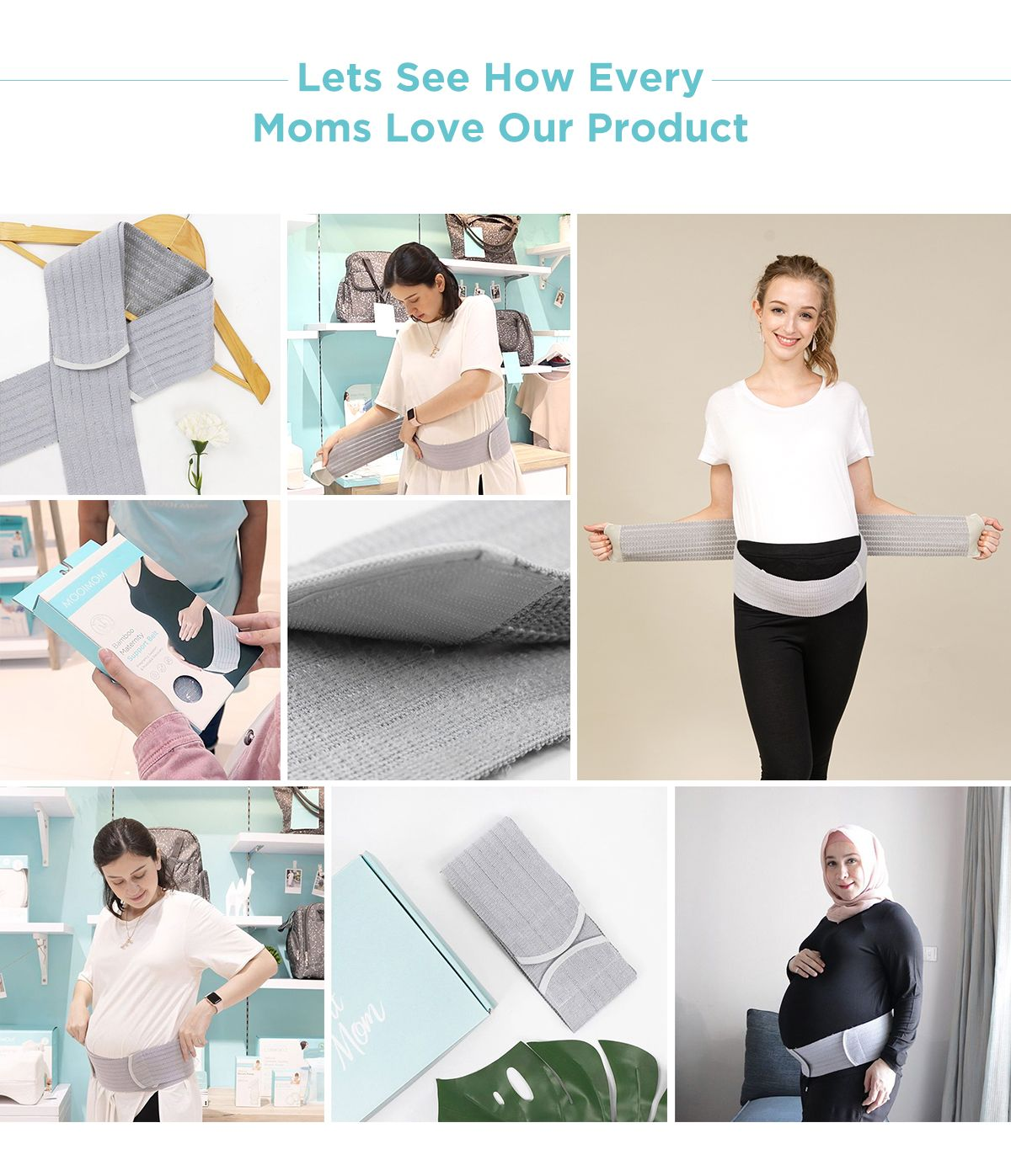 Maternity belt mooimom