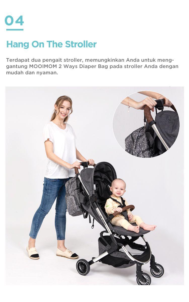 Diaper bag unisex