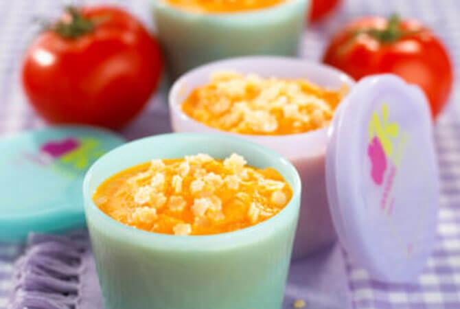 Resep MPASI: Ubi dengan Saus Tomat (6 bulan keatas)