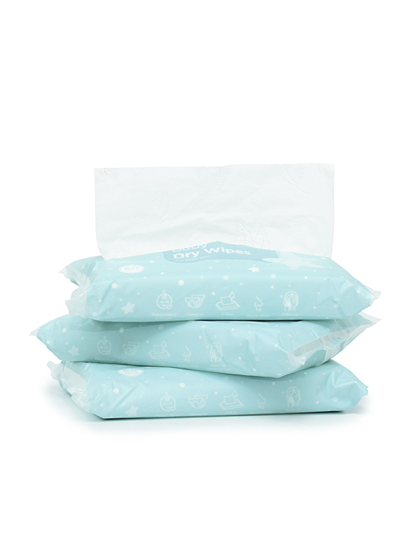 one gallery picture for MOOIMOM Baby Dry Wipes Pack (5 Pack isi 300 lembar)