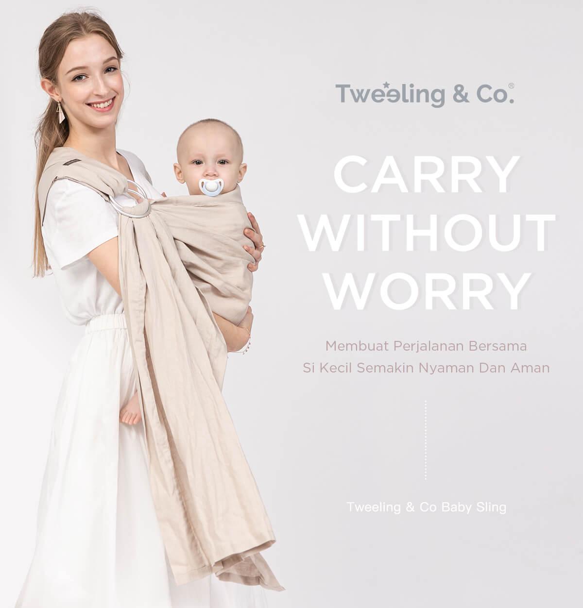 tweeling & co | gendongan bayi nyaman