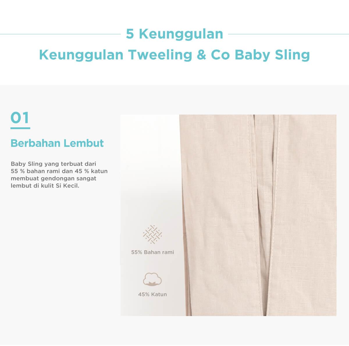 keunggulan gendongan bayi tweeling bahan lembut