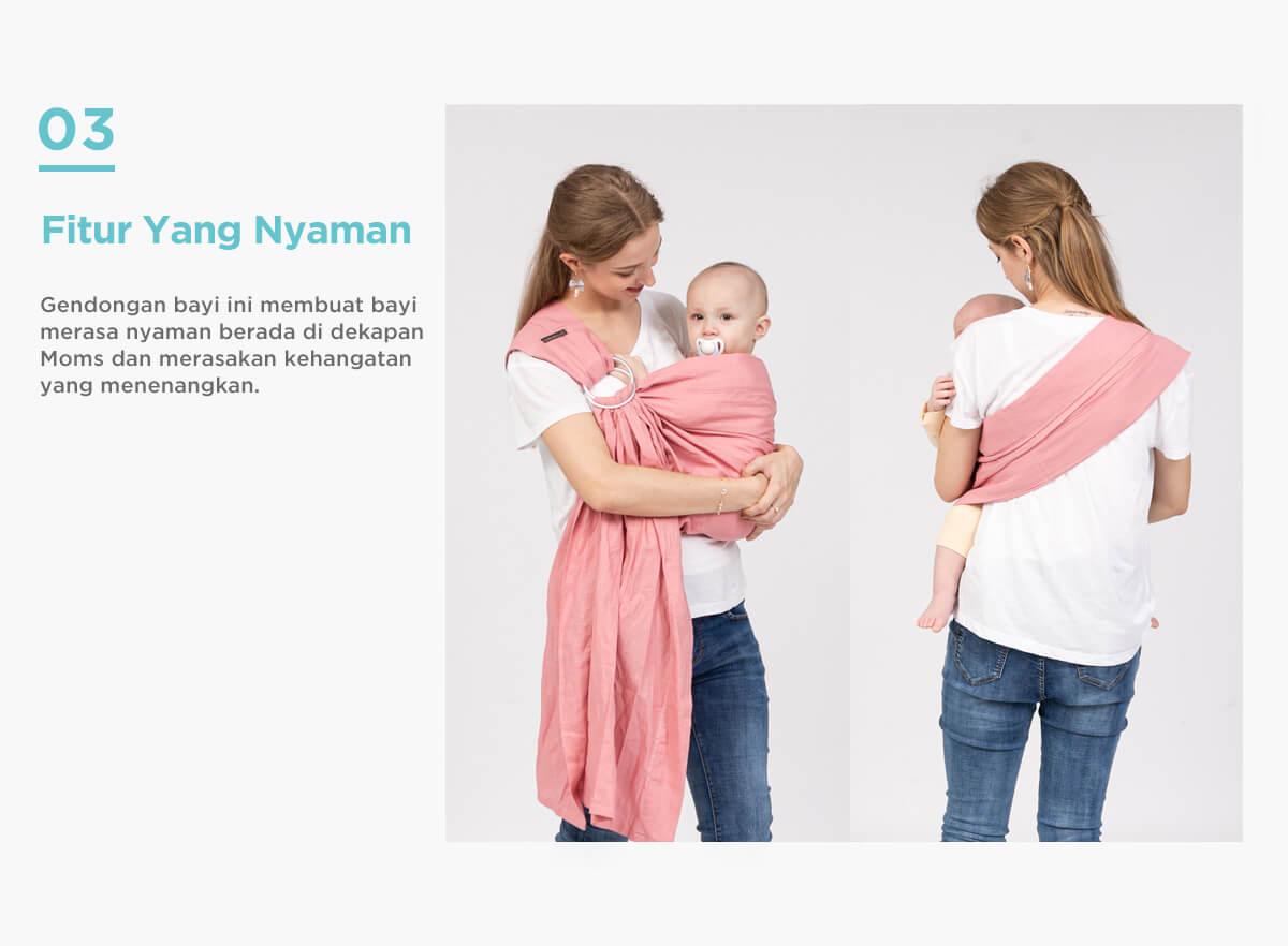 gendongan bayi tweeling nyaman