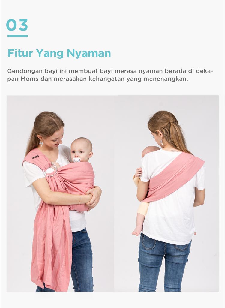 gendongan bayi nyaman