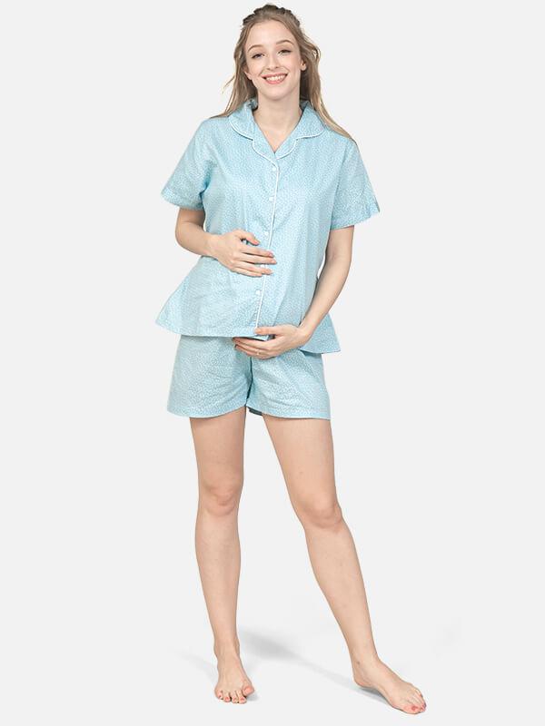 one gallery picture for MOOIMOM Short Pants Flowery Sleepwear