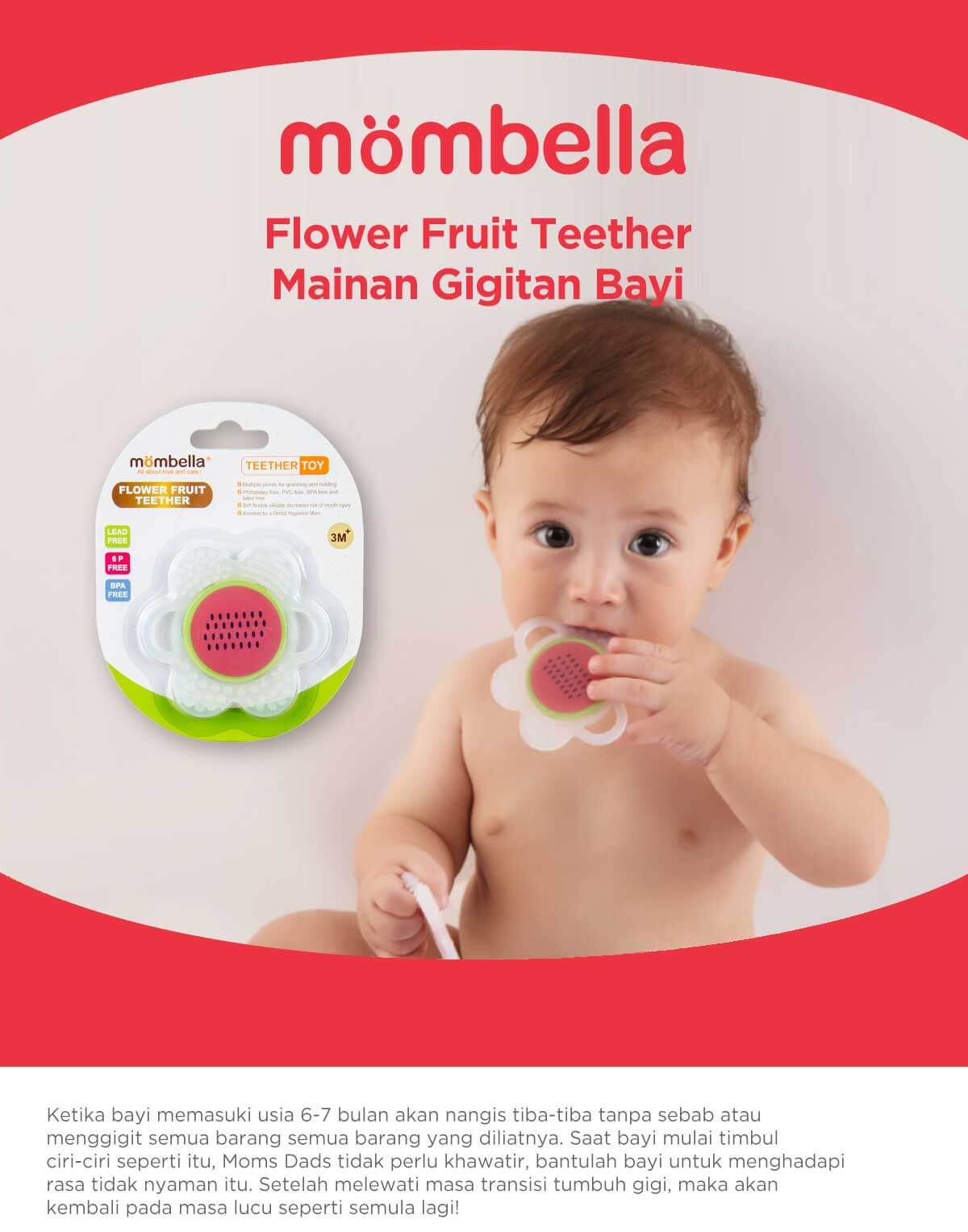 Mombella Flower Fruit Teethe