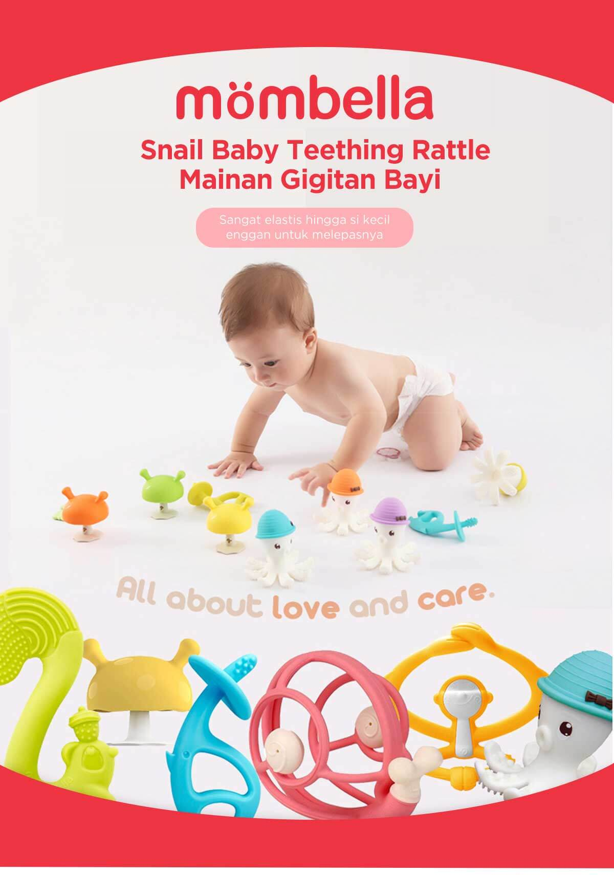 mombella snail teether