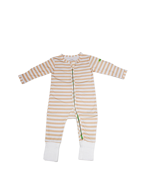 one gallery picture for HAMAKO Baju Bayi Terusan 2Way Zip Coverall