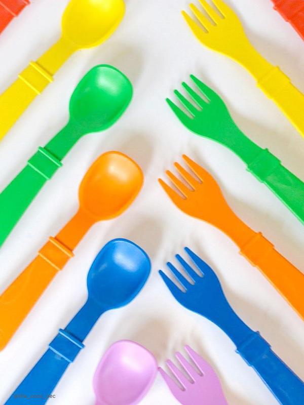 one gallery picture for Re-Play Garpu Makan Plastik Daur Ulang | Fork