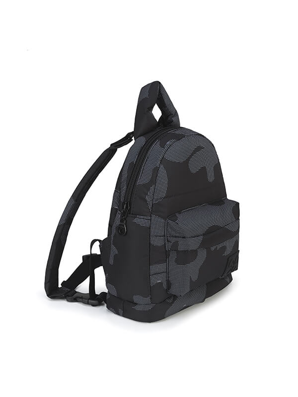 one gallery picture for CIPU Airy Backpack Eco Black Camouflage XS - 2Way