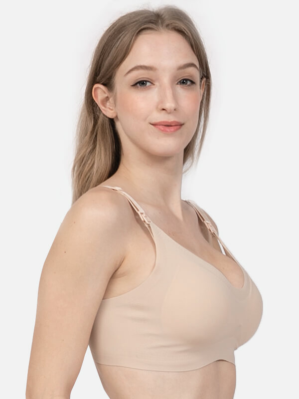 one gallery picture for MOOIMOM Bra Hamil Menyusui - Super Soft Seamless Maternity & Nursing Bra