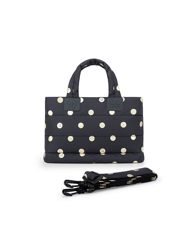 one gallery picture for CIPU Airy Totebag ECO Gold Polka Dot S